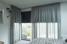 Sheer Curtains & Sunscreen Roller Blinds #dollarcurtainsandblinds