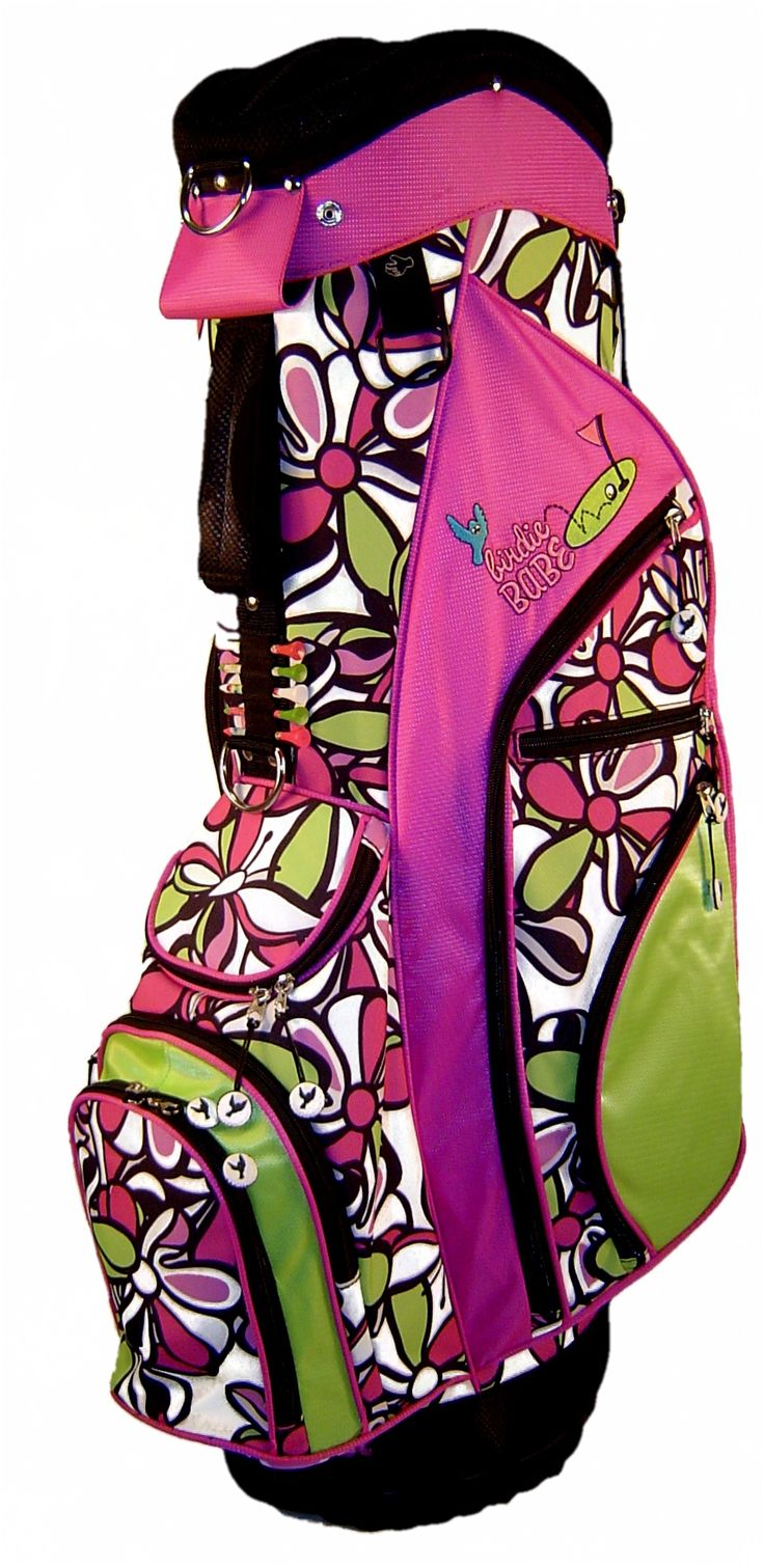 10 Images About Birdie Babe Ladies Golf Bags On Pinterest Lady Ux Ui Designer And Hot Pink