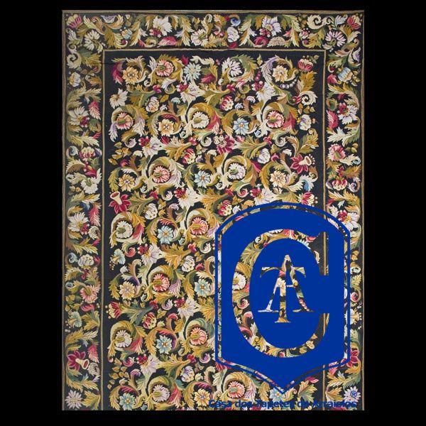Mais um tapete criado pela Casa dos Tapetes de Arraiolos