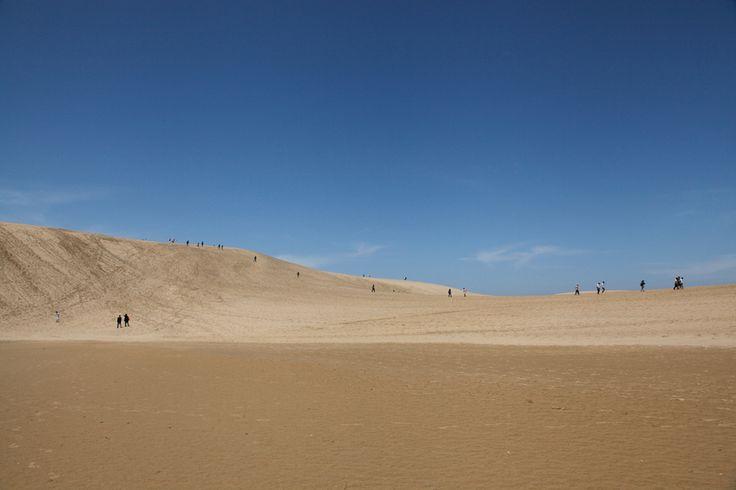 As belas dunas de areia em Tottori no Japão - Duna de Tottori   Copastur Prime