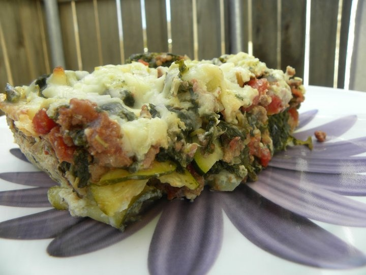 No-Pasta Lasagna: My sweet husband makes this often for weeknight dinners.