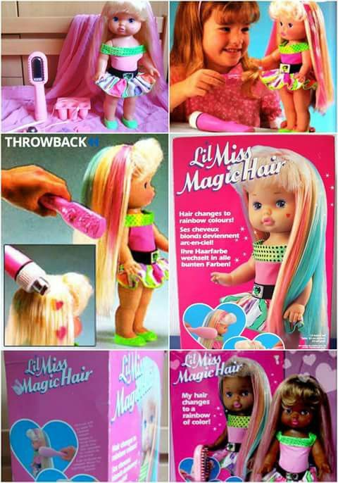 Little Miss Magic Hair doll. I always wanted one!