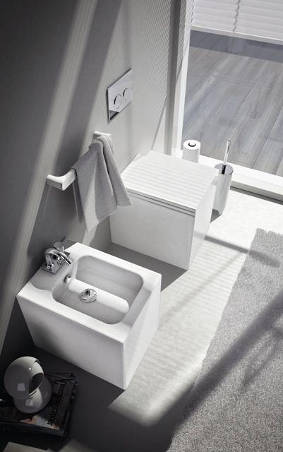 Block, design Meneghello Paolelli Associati. #sanitaries #sanitari #design #bathroom #ArtCeram