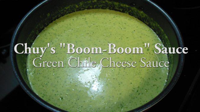 Chuy's Boom Boom Sauce video