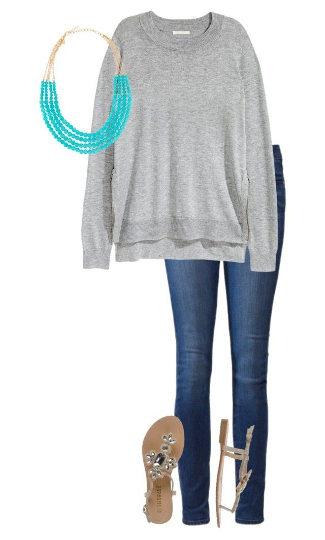 """Summer office casua #6"" by amooshadow on Polyvore featuring Paige Denim and Emily & Ashley"