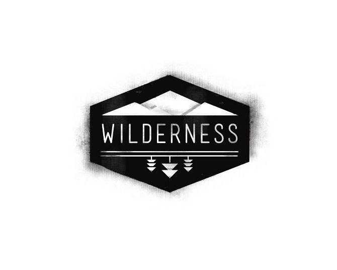Gaelyn Jenkins. wilderness logo / identity