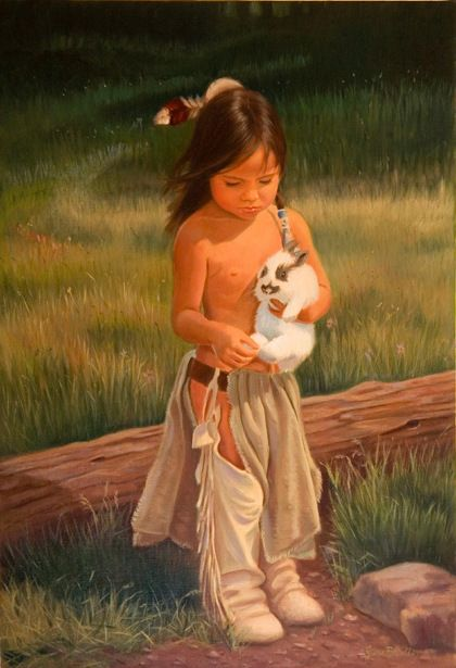 Rabbit's Foot American Artist Jane Bradley