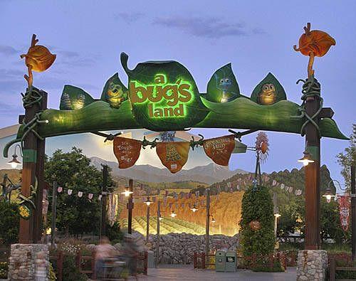 Disneyland California Rides | Bug's Land - Disney California Adventure Rides