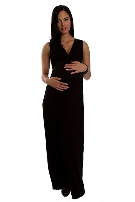 Jill Sleeveless Maxi Dress by Everly Grey | Maternity Clothes    available at www.duematernity.com