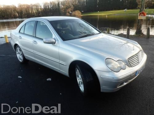 2002 Mercedes C180 2.0L Elegance