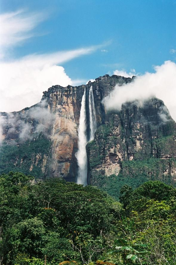 Angel Falls, Venezuela      UP!