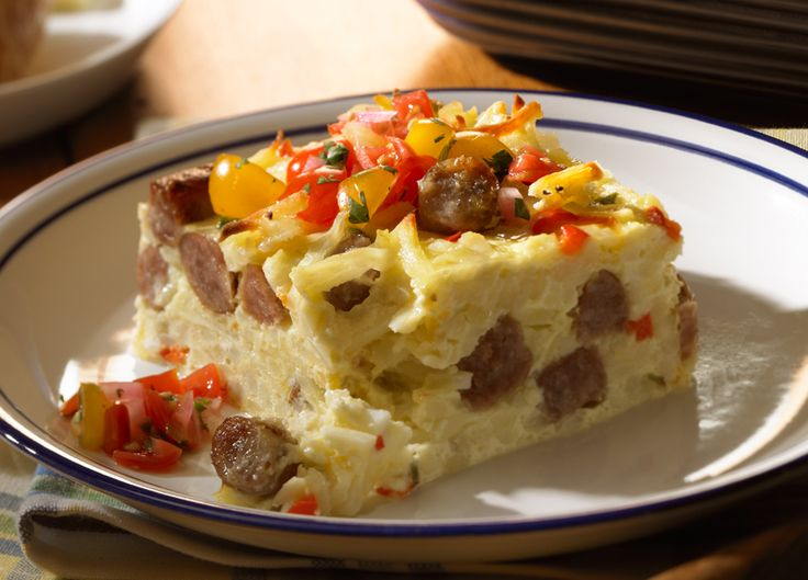 Sunrise Casserole.  Wonder if I could make this one without the hash browns.