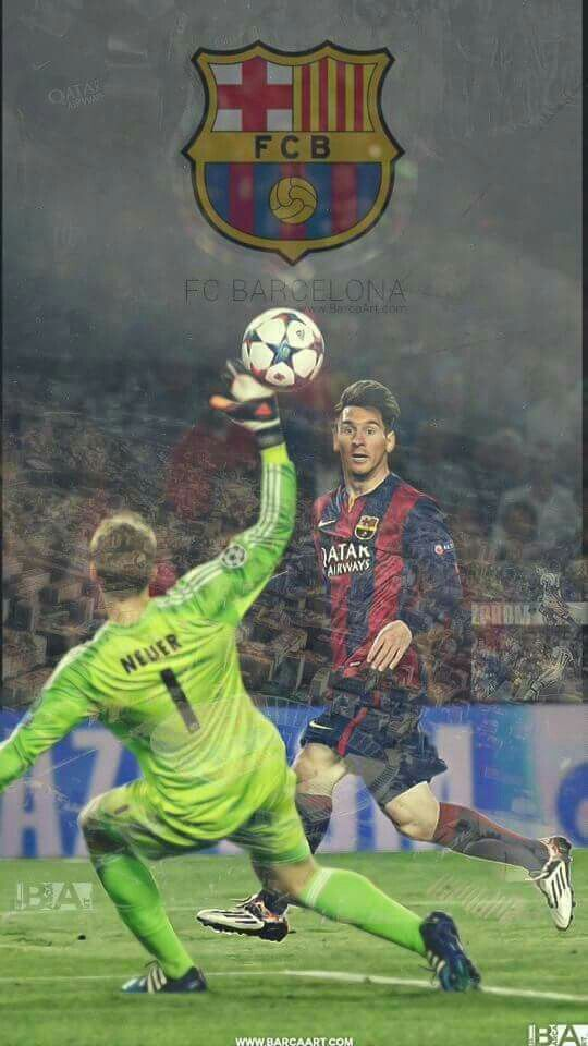 Messi vs Neuer