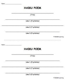 haiku essay