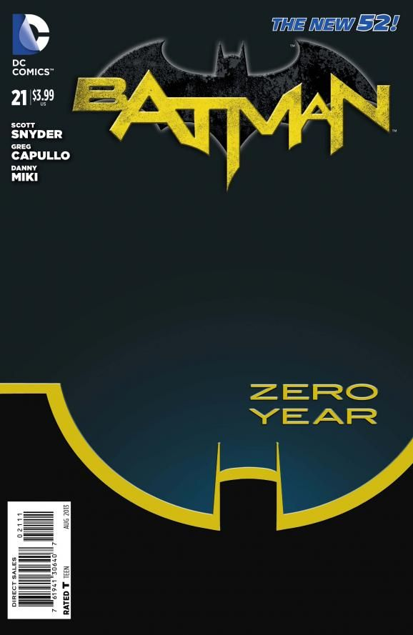 Batman #21: Zero Year Part 1