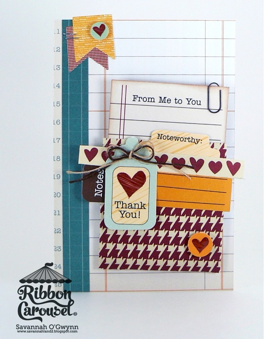 love the layers and ribbon!