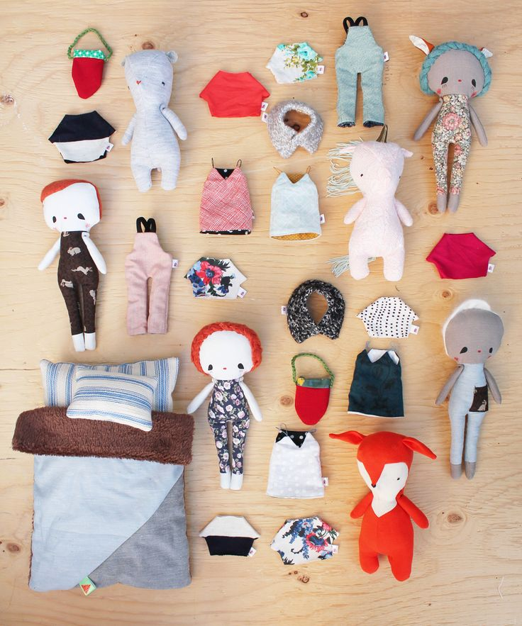 dolls, animals and accessories - rousskine