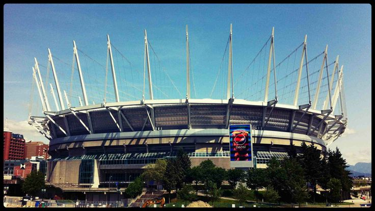 BC Place Stadium #Vancouver #Crown