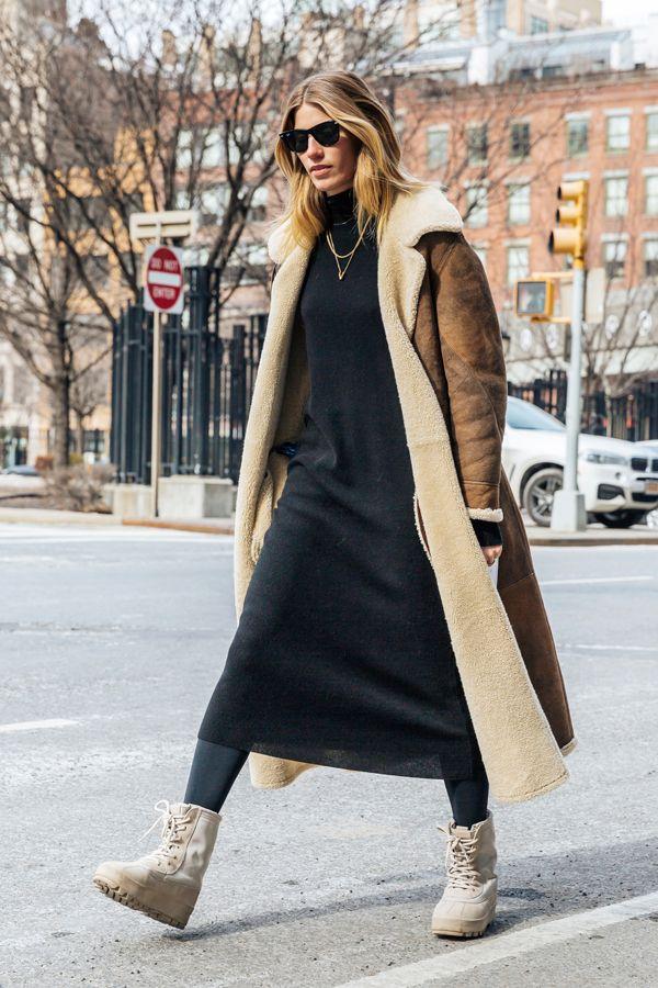 NYの冬、外せない防寒スタイル☆着飾りしすぎないタフネスさがポイント。ニューヨークファッションのアイデア☆