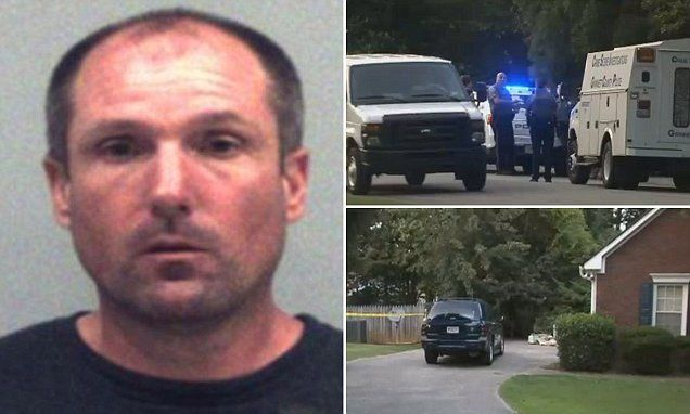 Georgia man, 40, 'beat his father to death with a crowbar in their driveway before assaulting a police officer'   Daily Mail Online