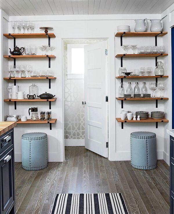 20 Ideas De Estantes Abiertos Para Cocina Funcionales Repisas De Cocina Diseno Muebles De Cocina Ideas De Decoracion De Cocina