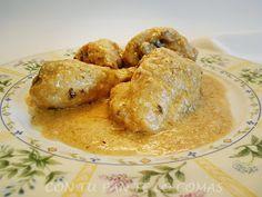 Una de las recetas más conocidas para cocinar el pollo. Muy fácil y con fotos del paso a paso.