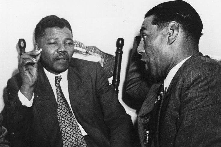 1964: Mandela and other ANC leaders were arrested and charged with sabotage in 1962. They were sentenced to life imprisonment in 1964.