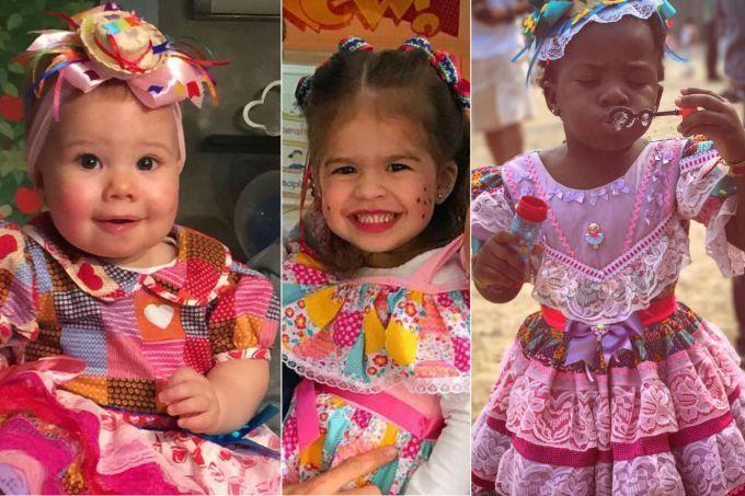 Festa Junina: 10 filhos de famosos que se vestiram de caipira