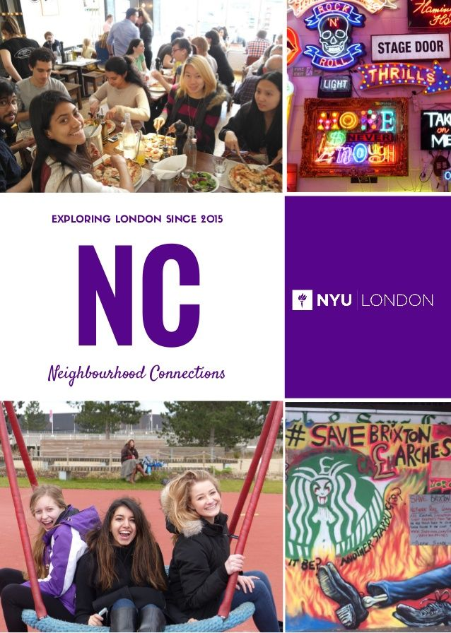 Neighbourhood Connections EXPLORING LONDON SINCE 2015 NC