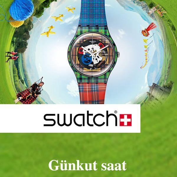 Sıradanlığa karşı bir duruş sergileyen yeni sezon Swatch ürünleri, Günkut Saat'te…  Hemen satın almak için;  http://www.gunkutsaat.com/pinfo.asp?pid=46756