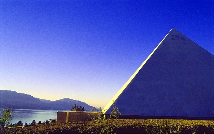Summerhill Pyramid Winery (British Columbia) ages their wines in a pyramid - with proven taste results.