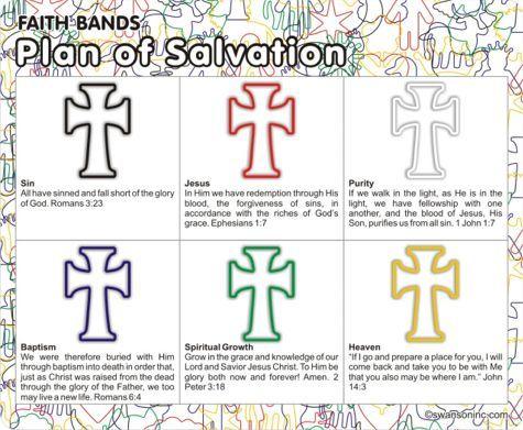 16 Best Images About Salvation Bracelets On Pinterest