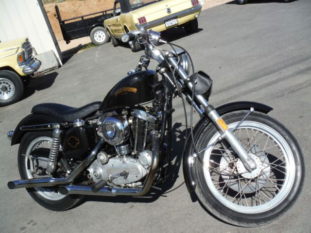 1969 HARLEY DAVIDSON SPORTSTER XLH900 ,ORIGINAL ENGINE, JUST PAINTED, VINTAGE ! for sale in Yucca Valley, California, United States
