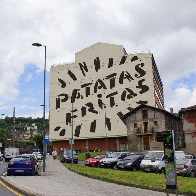 'Patatas fritas' @ Noruega-Olabeaga, Bilbao.