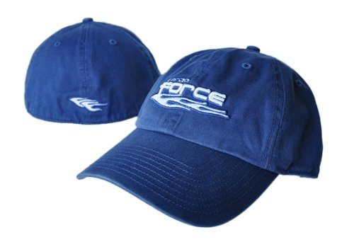 Faded Blue Fitted Cap $18