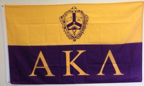 Alpha Kappa Lambda Fraternity Flag 3' x 5' by WindyCityFraternity, $21.99