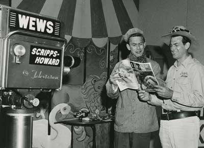 Captain Penny and Jungle Larry - C. 1950's, Cleveland, OH.