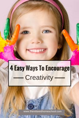 Arts and crafts for kids: 4 easy ways to encourage your kids to be creative PLUS why it's important!