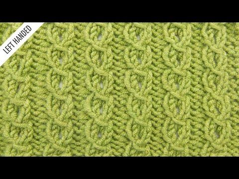 Faux Cable Edging :: Knitting Stitch :: New Stitch a Day