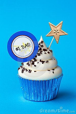 Father's Day Coming soon :)    © Ruth Black   Dreamstime.com    Cup cake for father's day