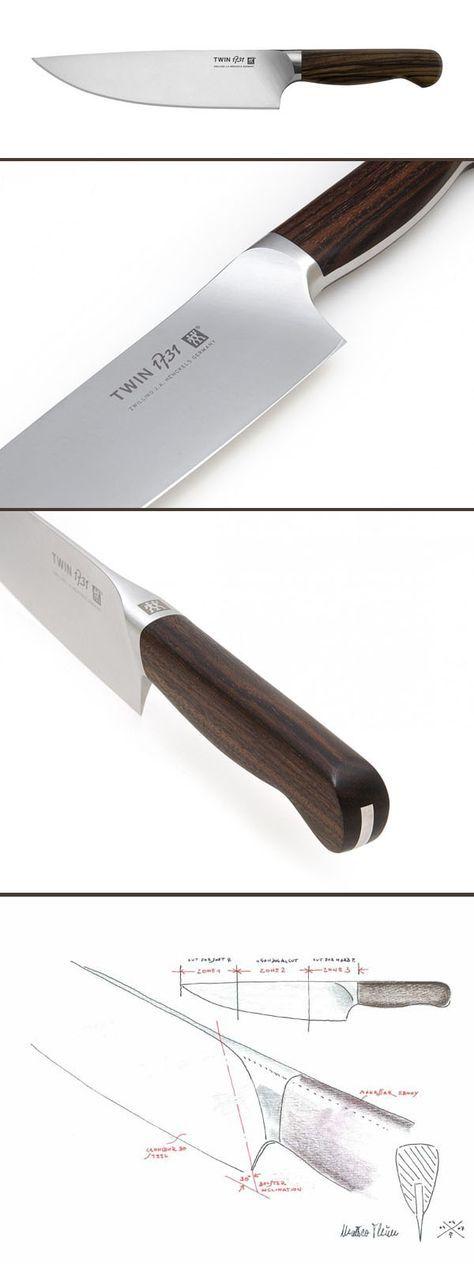 TWIN 1731 Messer Verbinden Exklusive Materialien Und Modernste Technologie.  Hochleistungsstahl Aus Der Raumfahrttechnik. Präzisionsgeschmiedete Klinge.