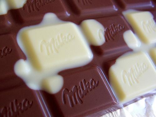milka- kuhflecken!! schmecht!