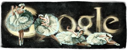 Anna Pavlova's 131st Birthday (only visible in Ukraine, Belarus, and Russia)    February 12, 2012