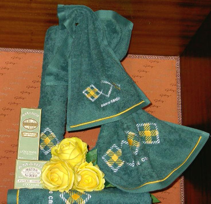 Juegos De Baño Verde:Juego de toallas 4 piezas verde http://galerydecoraciones/galeria