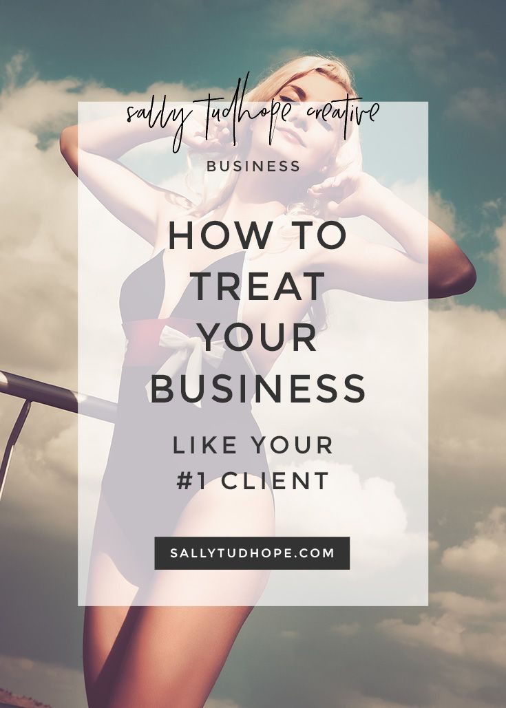 How do you make time to work on moving your business forward when you're so busy with client work? You have to shift your mindset and start treating your business as your #1 client.