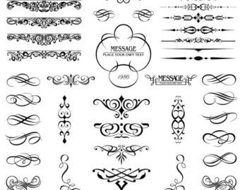 12 best DESIGNS PATTERNS DECOR ORNAMENTATION EMBELLISHMENTS