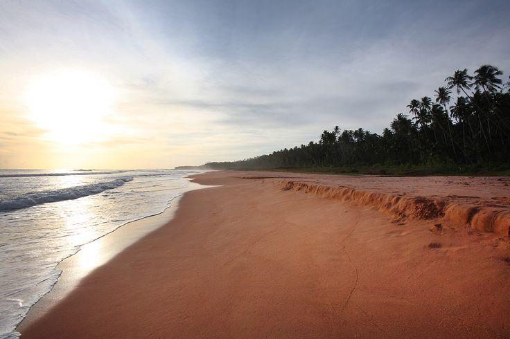 Pantai Pasir Merah (Red Sand Beach) on the west-coast of North Nias Regency. Nias Island, Indonesia. www.northniastourism.com