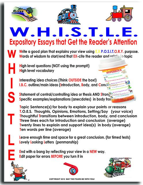 Tips for writing expository essays