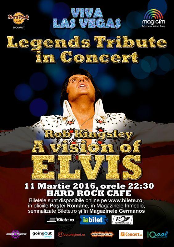Vineri, 11 Martie 2016, ora 22:30, Hard Rock Cafe, Bucuresti