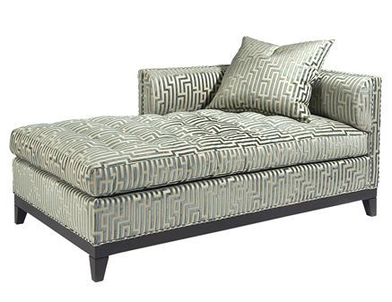 Left-Arm Chaise from Pearson Furniture - contemporary - day beds and chaises - Pearson Company timeless Greek key design  sc 1 st  Pinterest : chaise lon - Sectionals, Sofas & Couches